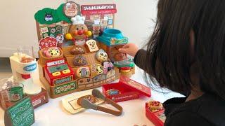 アンパンマン おもちゃ 新発売 かまどでやこう♪ジャムおじさんのやきたてパン工場DX お買い物ごっこ Anpanman Bakery Toy