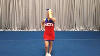 nca tryout material 2017 long dance back to counts