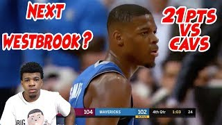 DENNIS SMITH JR IS THE NEXT WESTBROOK !? 21PTS VS LEBRON JAMES HIGHLIGHTS! MAVS VS CAVS  (REACTION)