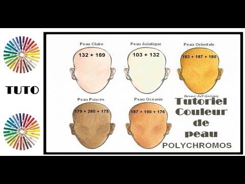 Tutorial Polychromos Fc Couleur De Peau Skin Color Youtube
