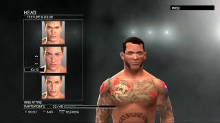 WWE 2K17:CM Punk CAW formula(Xbox 360/PS3)