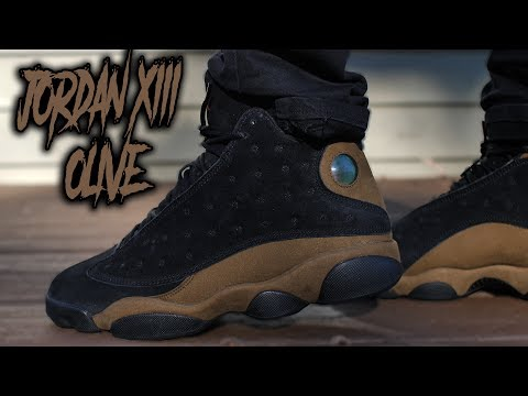 """COP OR NOT ?!?! JORDAN 13 """"OLIVE"""" REVIEW AND ON FEET !!!"""