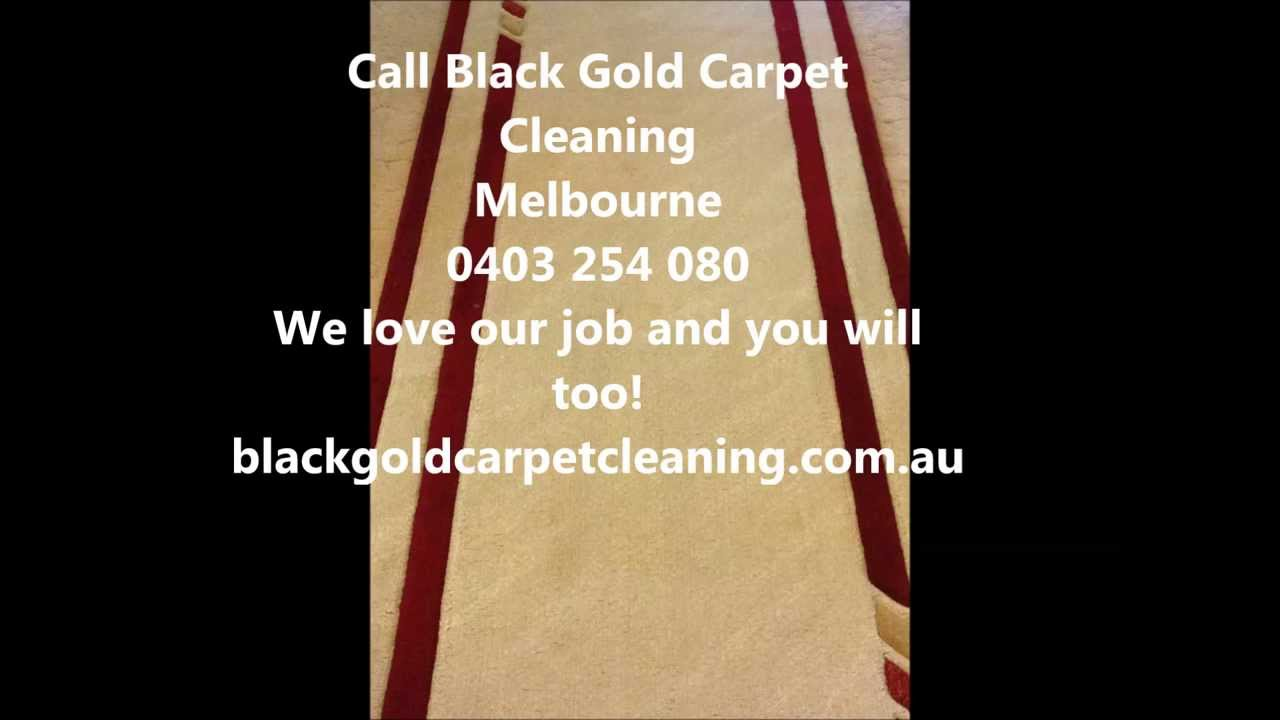 Rug Cleaning Melbourne Black Gold Carpet Cleaning Youtube
