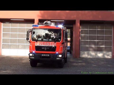 RTW + LHF 20/12 Allrad Berliner Feuerwehr FW Wittenau