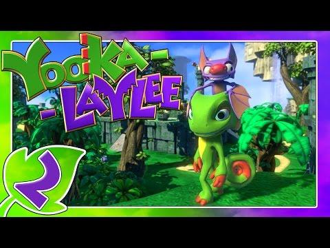YOOKA-LAYLEE Part 2: Bunte Flora & Fauna in den Stammblock-Tropen from YouTube · Duration:  24 minutes 41 seconds