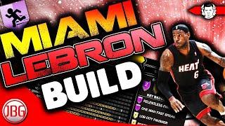 NBA 2K18 Miami Heat LeBron James Archetype for MyCAREER - NBA 2K18 Tips by JackedBillGaming