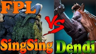 Dota 2 - SingSing vs Dendi and others players 6000+ MMR Plays Faceit Pro League - FPL