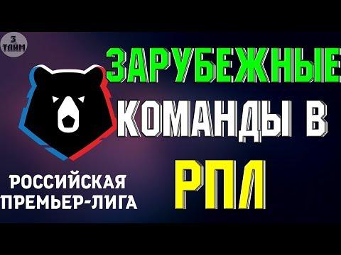 Зарубежные клубы в Российской Премьер Лиги – возможно ли это ? Новости футбола сегодня