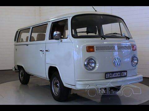 volkswagen t2 combi bus 1977 video. Black Bedroom Furniture Sets. Home Design Ideas