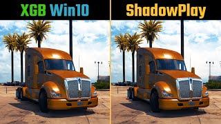 ShadowPlay vs. Win10 Recorder XGB