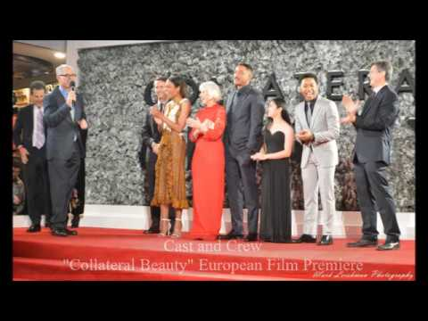 Will Smith Collateral Beauty European Film Premiere