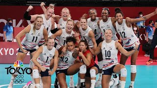 USA tops China in women's volleyball as Jordan Thompson erupts for 34 | Tokyo Olympics | NBC Sports