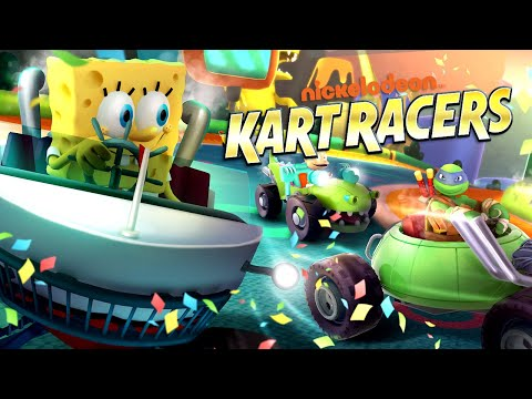 Nickelodeon Kart Racers - Official Announcement Trailer
