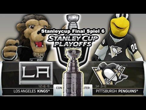STANLEY CUP FINAL SPIEL 6 [NHL][60fps][Deutsch] #106 - Pittsburgh Penguins - Los Angeles Kings