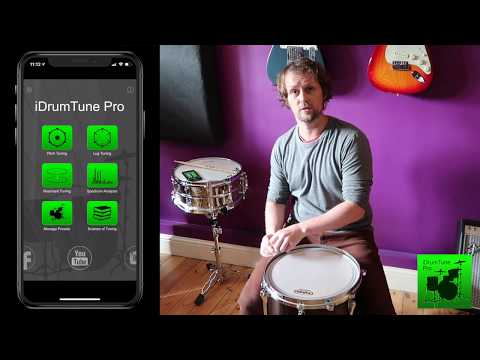 Drum Tuning 101 - Back To Basics. Simplified tuning with the iDrumTune Pro drum tuner app