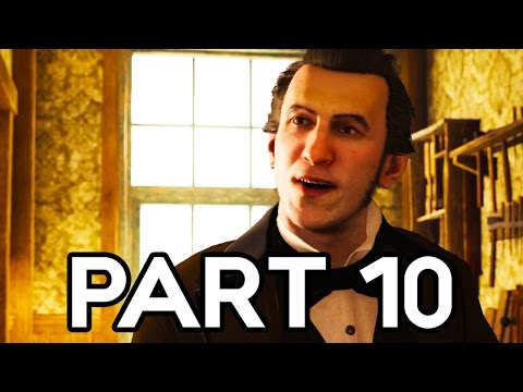 Assassin's Creed Syndicate Gameplay Walkthrough - Part 10 - ALEXANDER GRAHAM BELL!! (1080p)