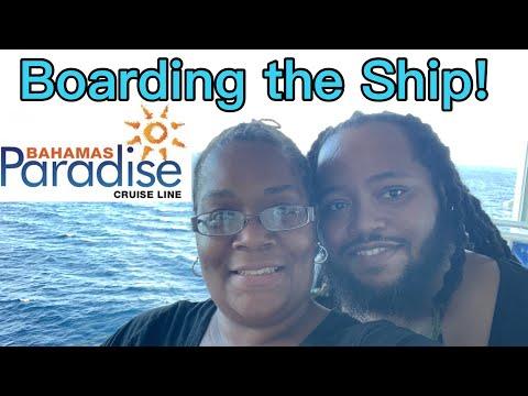 Bahamas Paradise Cruise: Grand Celebration || Embarkation, Sailaway & Dinner