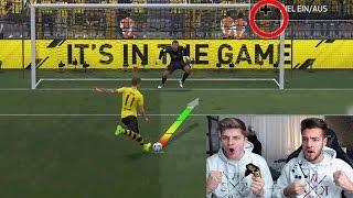 OMG! HEFTIGE XXL 11 METER CHALLENGE⛔️😱 FIFA 17 FIFAGAMING vs WAKEZ