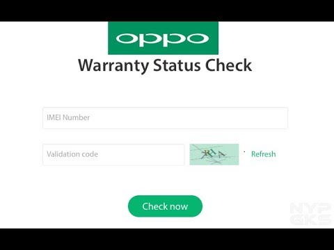 How to Check OPPO Mobile Warranty Status