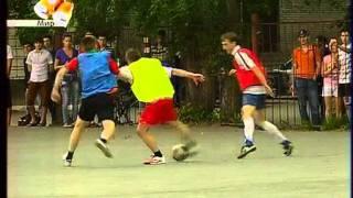 Сюжет о Студенческой футбольной лиге