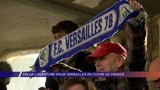 Yvelines | Fin de l'aventure pour Versailles en coupe de France