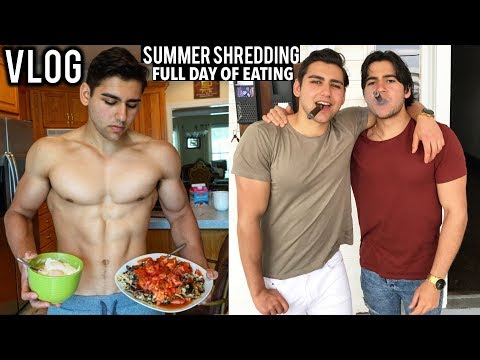 Summer Shredding Full Day Of Eating, Training, Living And Partying