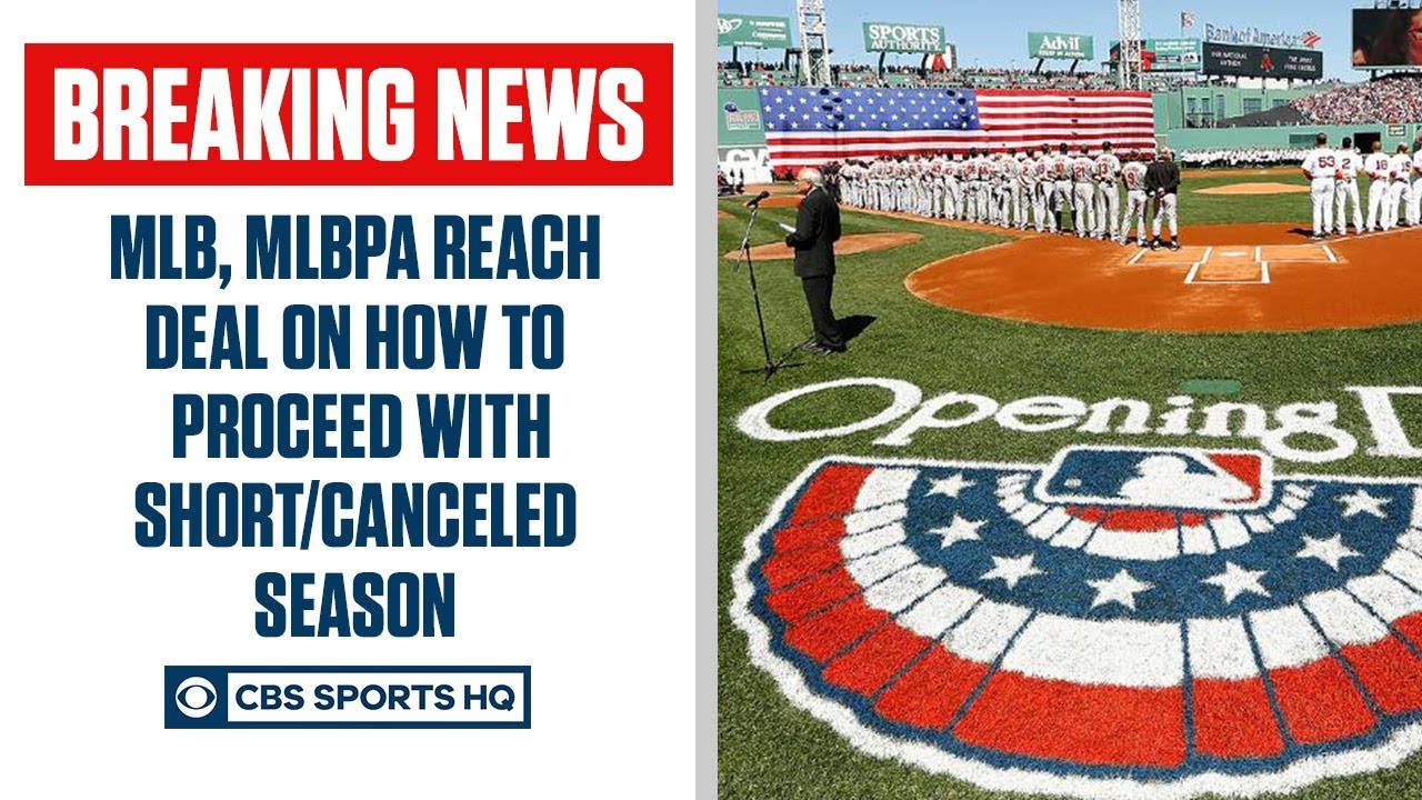 BREAKING: MLB, MLBPA reach agreement on how to deal with shortened/canceled season | CBS Sports HQ