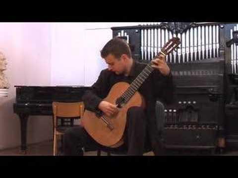 Goran Krivokapic - Bach Violin Sonata III Allegro Assai