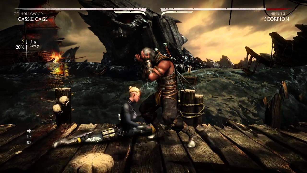 Mortal Kombat Nut Punches Are Brutal