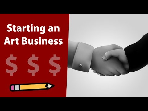 Starting an Art Business (Licenses, Taxes & Expenses) - Digital Art Vlog