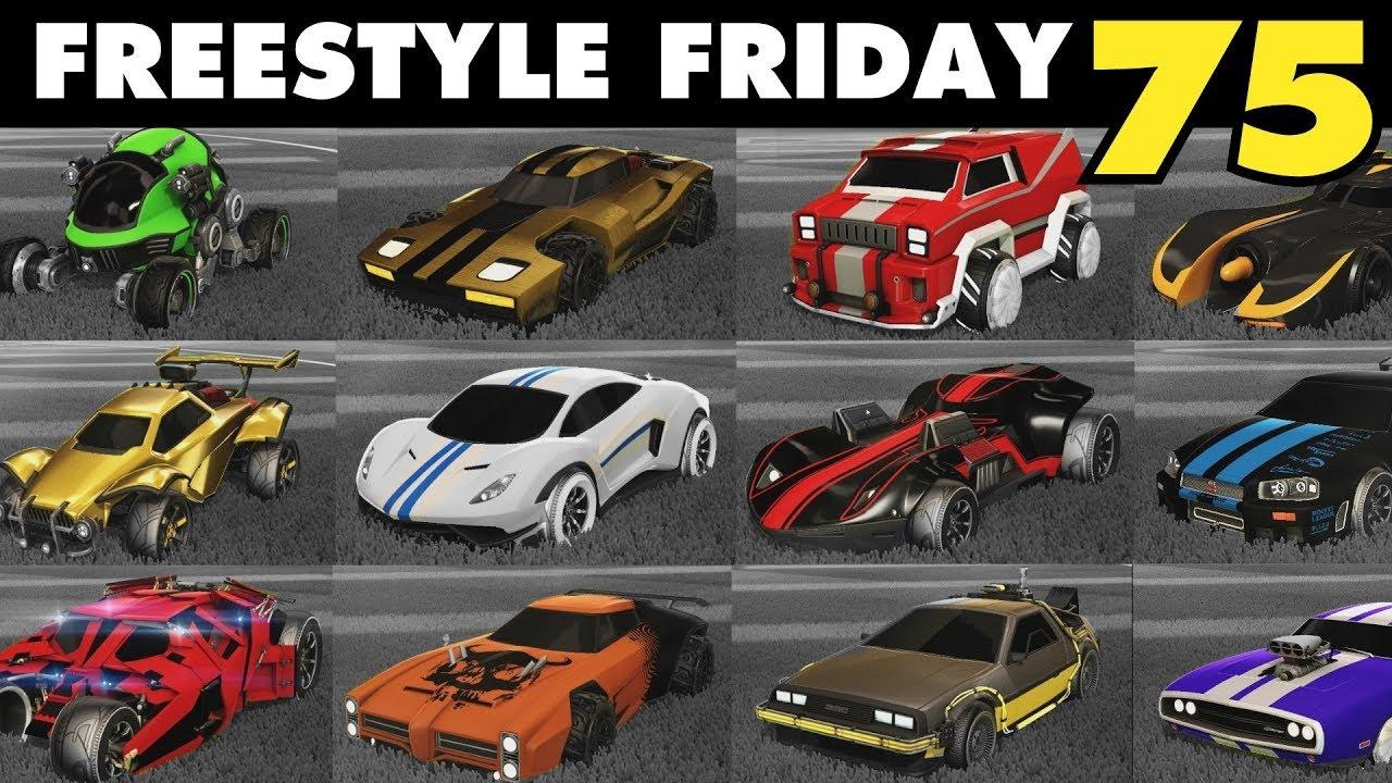 Rocket League Cars List