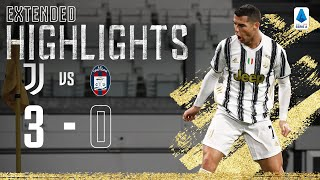 Juventus 3-0 Crotone | Ronaldo & McKennie Score to Secure Win! | EXTENDED Highlights