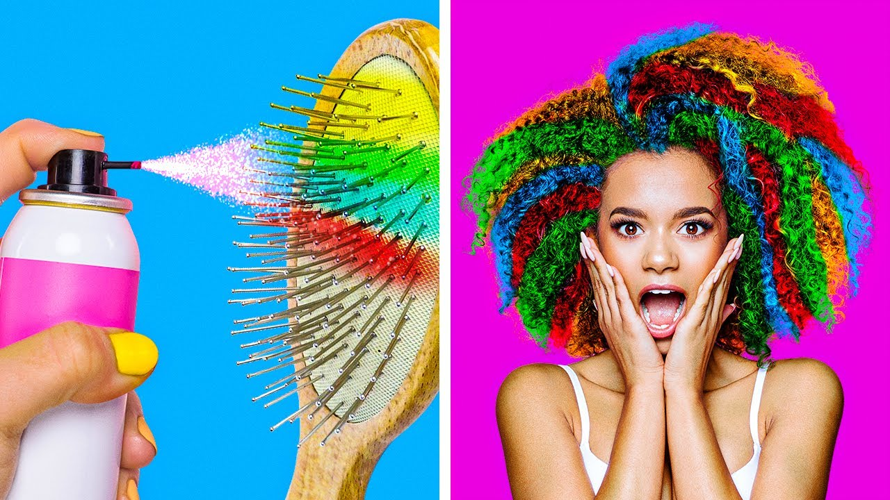 STUNNUNG HAIR HACKS TO CHANGE YOUR LIFE || Beauty Recipes fo Smart Girls