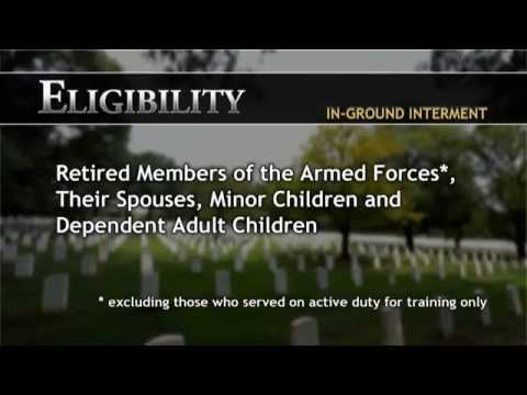Determining Eligibility for Burial at Arlington National Cemetery