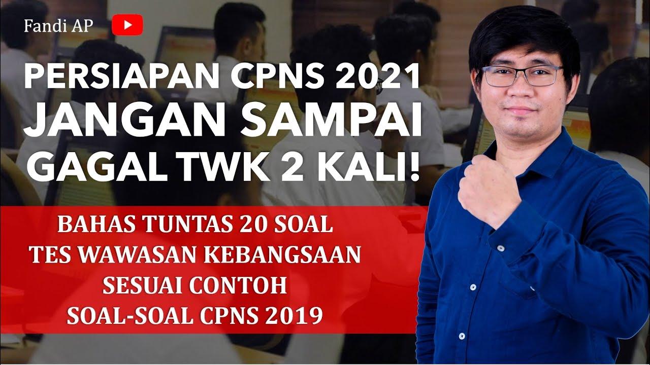 Tryout Soal Cpns 2021 - Guru Galeri