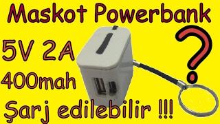 Şarj edilebilir power bank nasıl yapılır ? (mini maskot) ( serİ baĞlanti kesİnlİkle olmayacak )