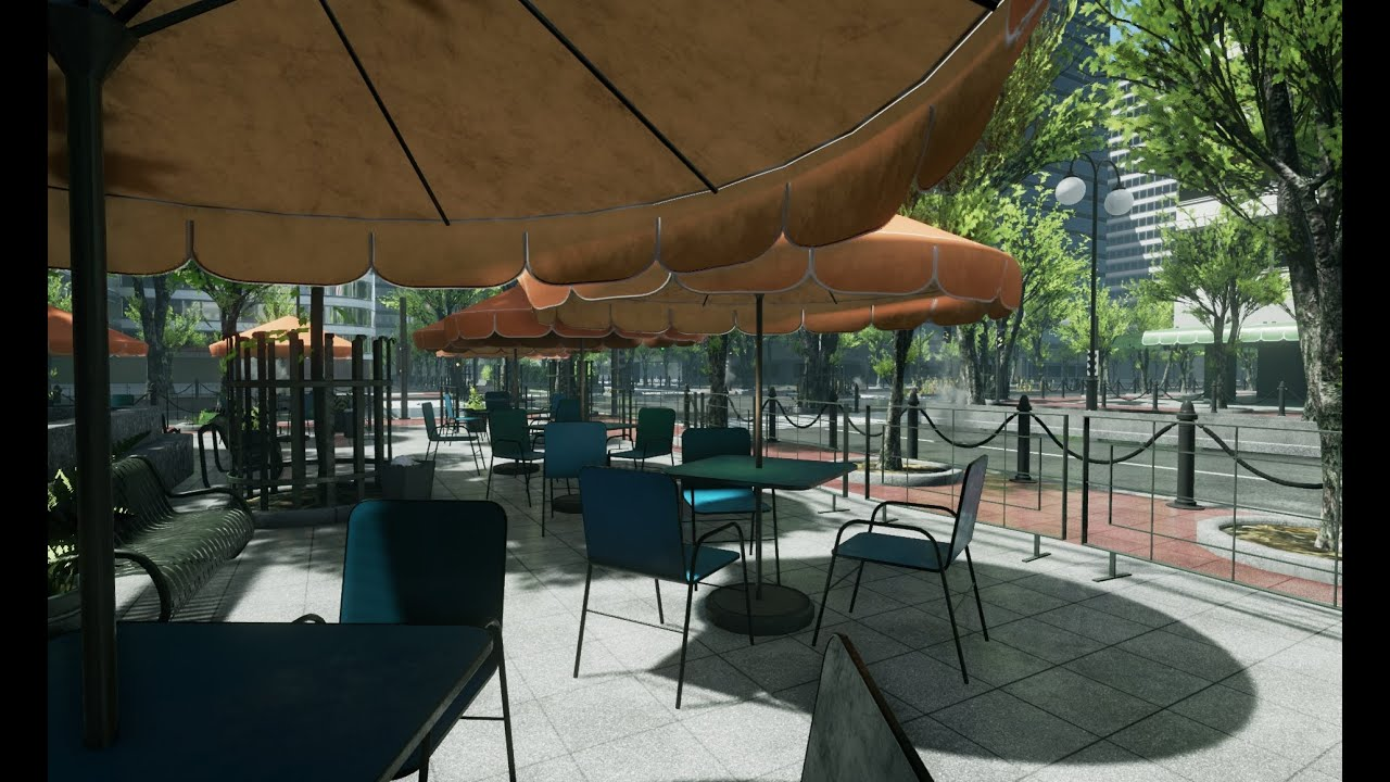 Unreal engine 4 - city level WIP