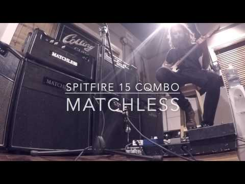 MATCHLESS AMPLIFIER SPITFIRE 15 COMBO QUICK DEMO