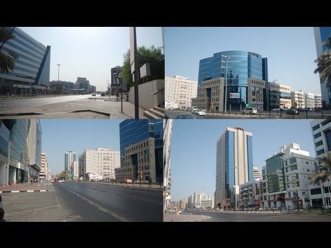 THE BANK STREET DUBAI VIDEO, (Khalid Bin Al Waleed Street) BURDUBAI, DUBAI, UNITED ARAB EMIRATES
