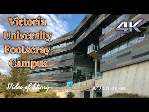 4K VIDEO Victoria University Footscray Campus VIC AUS (2019) 4k video UHD