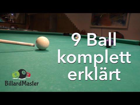 9 Ball - komplett gelocht - MIT Erklärung & Analyse Pool Billard Training | BillardMaster