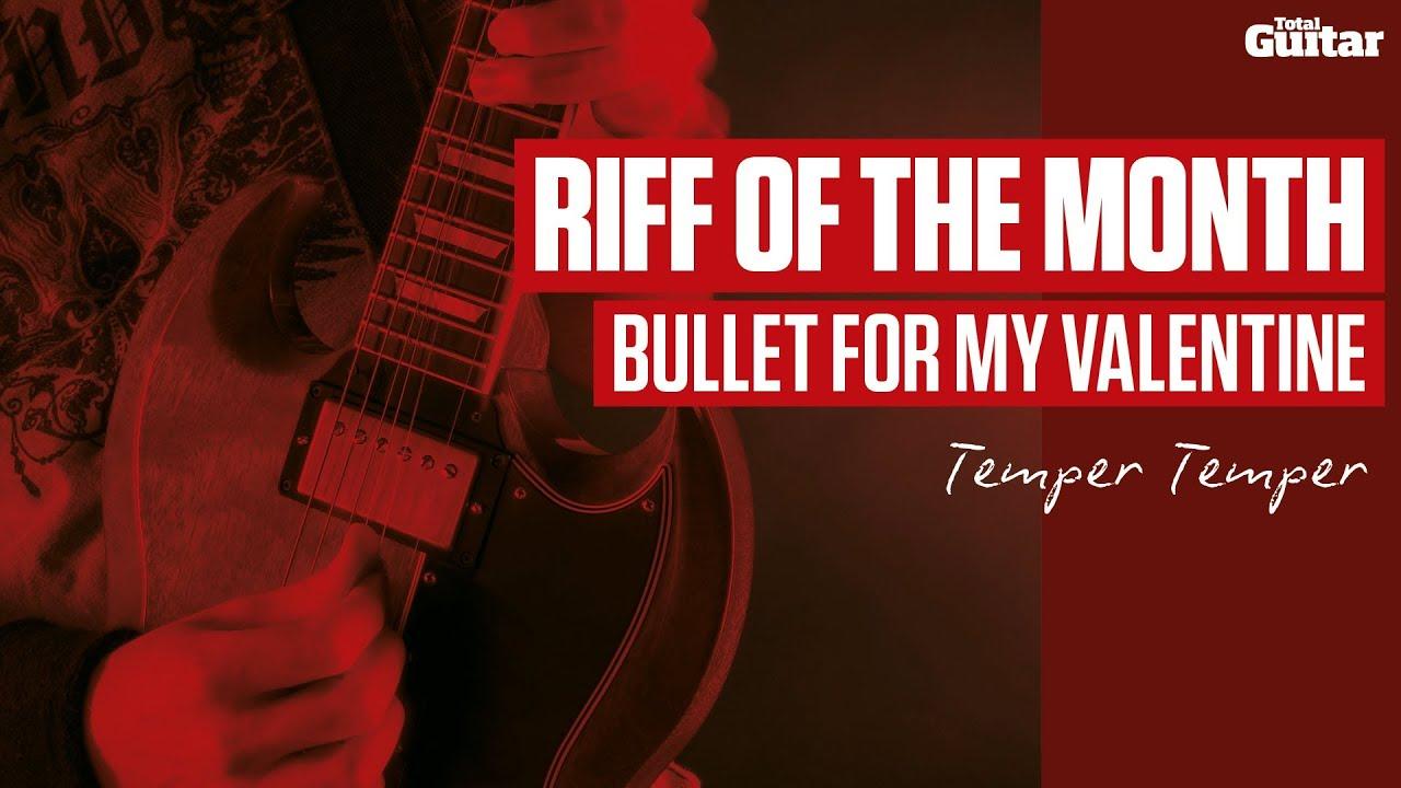 Bullet For My Valentine   Temper Temper   Guitar Lesson (TG236)