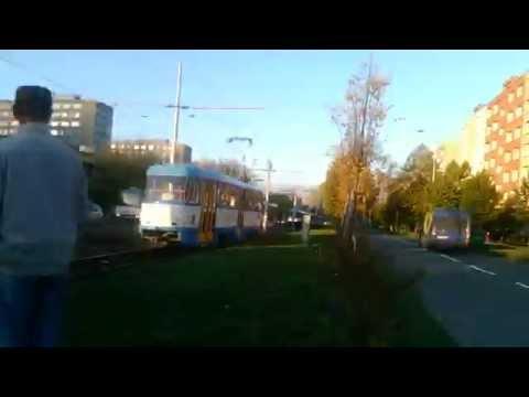 MHD Ostrava | Výpadek spoje linky 11 | Kino Luna - Kotva