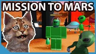 Mission zum Mars - Roblox Time Travel Adventures