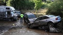 Heftige Überschwemmungen auf Korsika