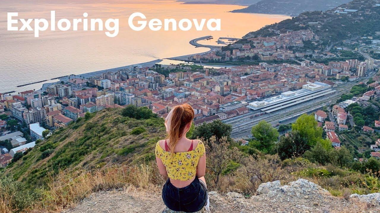 Liguria #1 | Pesto in Genoa, exploring Rocchetta and an incredible sunset