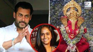 Salman Khan CANCELS Ganpati Celebrations At Home Because Of Sister Arpita | LehrenTV