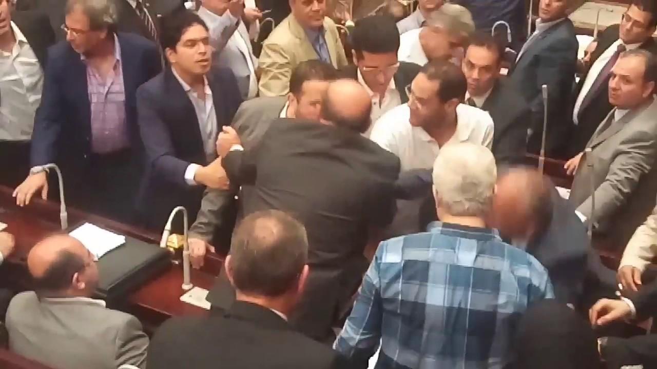 مشادة بين ضياء داوود ومرتضي منصور واحمد الشرقاوي فوق يا مرتضي # تيران وصنافير