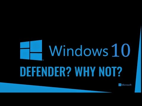 Why I Don't Recommend Windows Defender