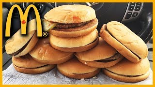 McDonald's 50th Anniversary in Canada • 9 BURGER CHALLENGE